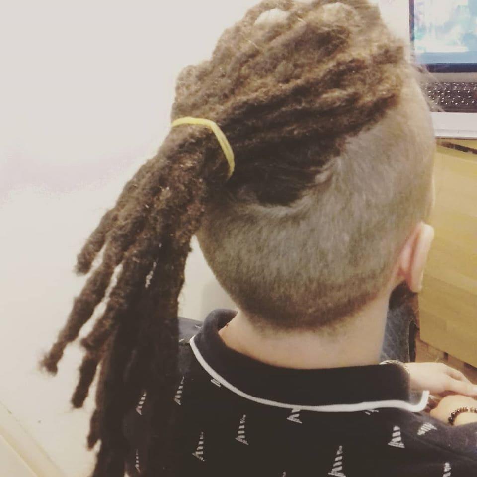 raszta haj készítés